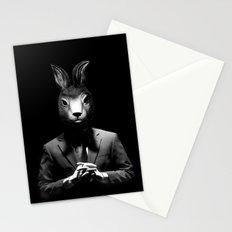Rabbit Man Stationery Cards