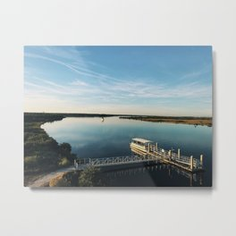 The View from Fort Matanzas Metal Print