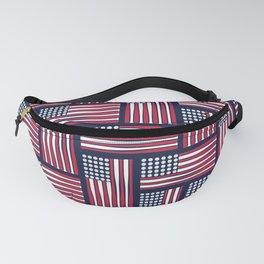 USA Baseball Flag Fanny Pack