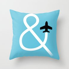 And Fly Throw Pillow