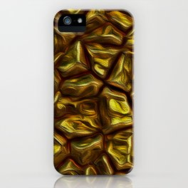 GOLD NUGGETS iPhone Case