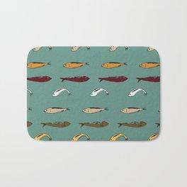 Sardines 3 Bath Mat