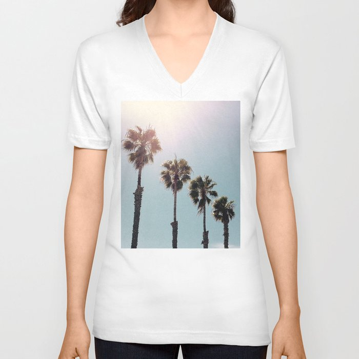 Four Palms Unisex V-Neck