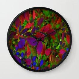 Flower | Flowers | Colour My World Wall Clock