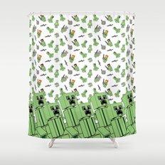 Lia 3 Shower Curtain