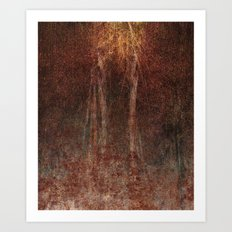A thing with no name Art Print