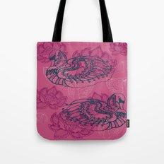 Hamsa, the swan Tote Bag