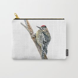 Yellow-bellied Sapsucker by Teresa Thompson Carry-All Pouch