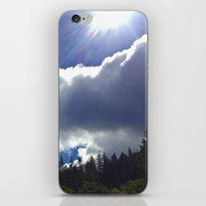 Sunny Clouds iPhone & iPod Skin