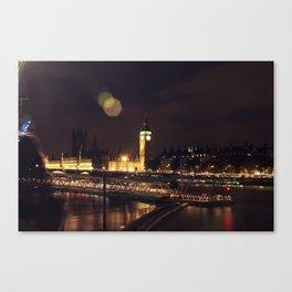 London Big Ben Canvas Print