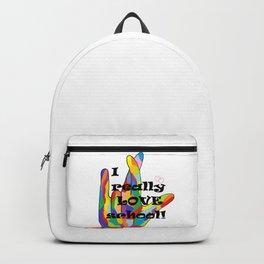 I Really LOVE School! Backpack