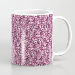 Flowers in the garden - strawberry color 4 Coffee Mug