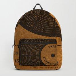 Sam the Record Man Vintage Backpack