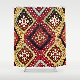 Kurdish Sivas East Anatolian Yastik Print Shower Curtain