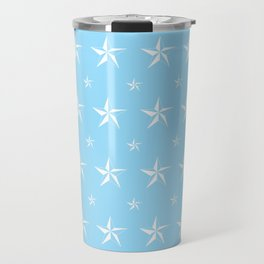 Stella Polaris Light Blue Design Travel Mug