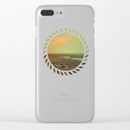 Lonely Landscape Clear iPhone Case