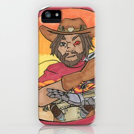 dead eye iPhone Case
