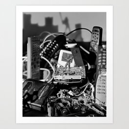 Remote Terminal Failure Art Print