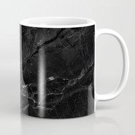 Black abstract natural marble pattern - beautiful home decor Coffee Mug