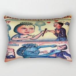 The Opium Eater  Rectangular Pillow