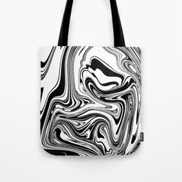 Stripes, distorted 3 Tote Bag