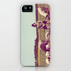J Crist - Everything Stays Here and Now iPhone (5, 5s) Slim Case