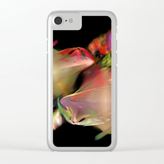 Flower Work  (A7 B0236) Clear iPhone Case