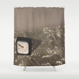 Comme le temps passe... Shower Curtain