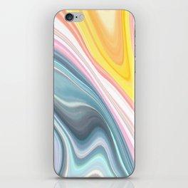 Marble Waves iPhone Skin