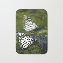 Monarch Butterfies Bath Mat