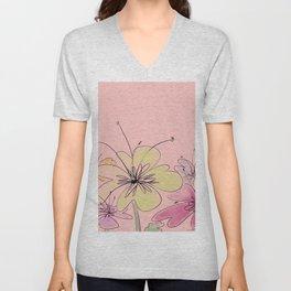 Blossoming buds Unisex V-Neck