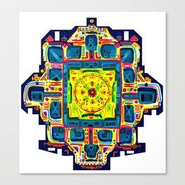 Vishuddha Throat chakra Canvas Print
