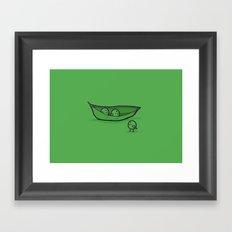 Chick Peas Framed Art Print