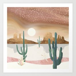 Honey Sky Art Print