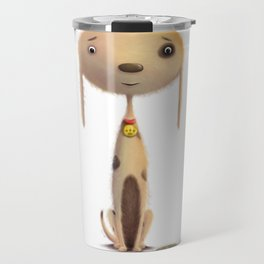 Good Doggie by dana alfonso Travel Mug