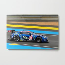 Vantage Motorsport Racing Car Metal Print
