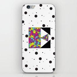 Letter E iPhone Skin