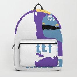 Let's Get Halloweird 09 Giant Snail Monster Backpack