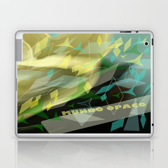 Opaque world: garment in the air. Laptop & iPad Skin