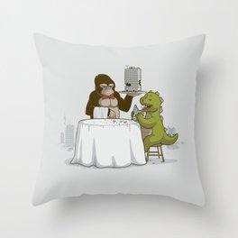 Crunchy Meal Throw Pillow