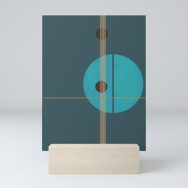 Geometric Abstract Art #4 Mini Art Print