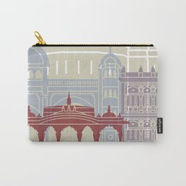 Pune skyline poster Carry-All Pouch