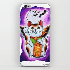 Halloween Cat iPhone & iPod Skin
