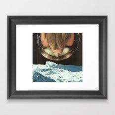 Down To Earth 2 Framed Art Print
