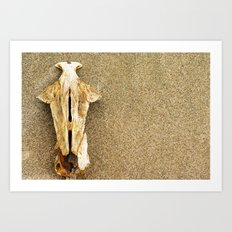 and another carcass Art Print