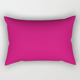 PINK PEACOCK - PANTONE NEW YORK FASHION WEEK 2018 SPRING 2019 SUMMER Rectangular Pillow