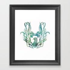 Otterly spring Framed Art Print