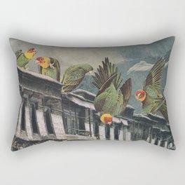 Visitors Rectangular Pillow