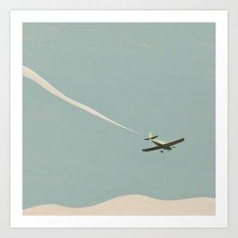 Cessna Airplane Art Print