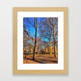 Empty Capital Framed Art Print